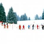 北海道のキッズ・スキー・スクールと託児プログラム
