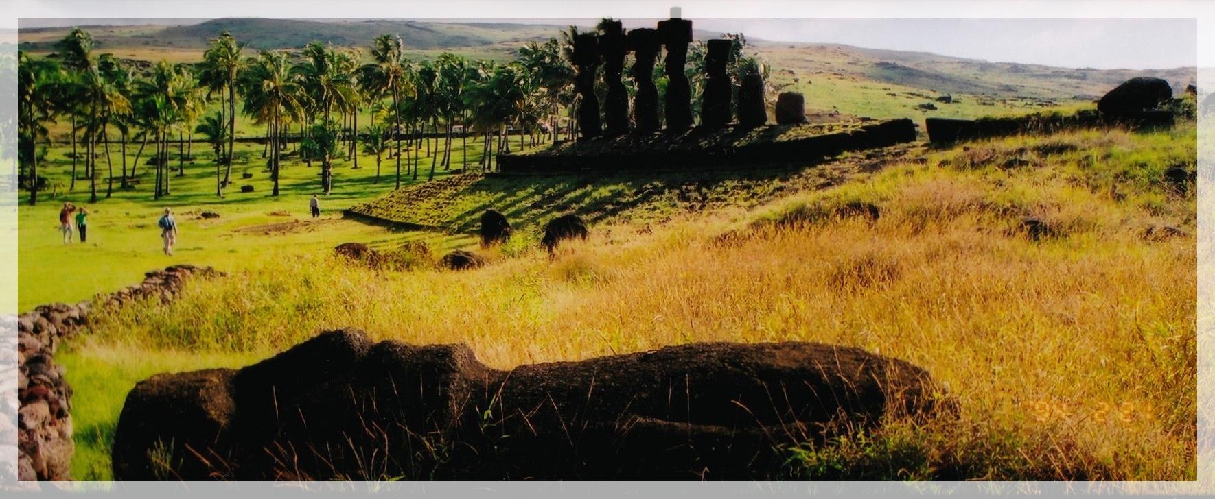 世界一周旅行 イースター島旅行記