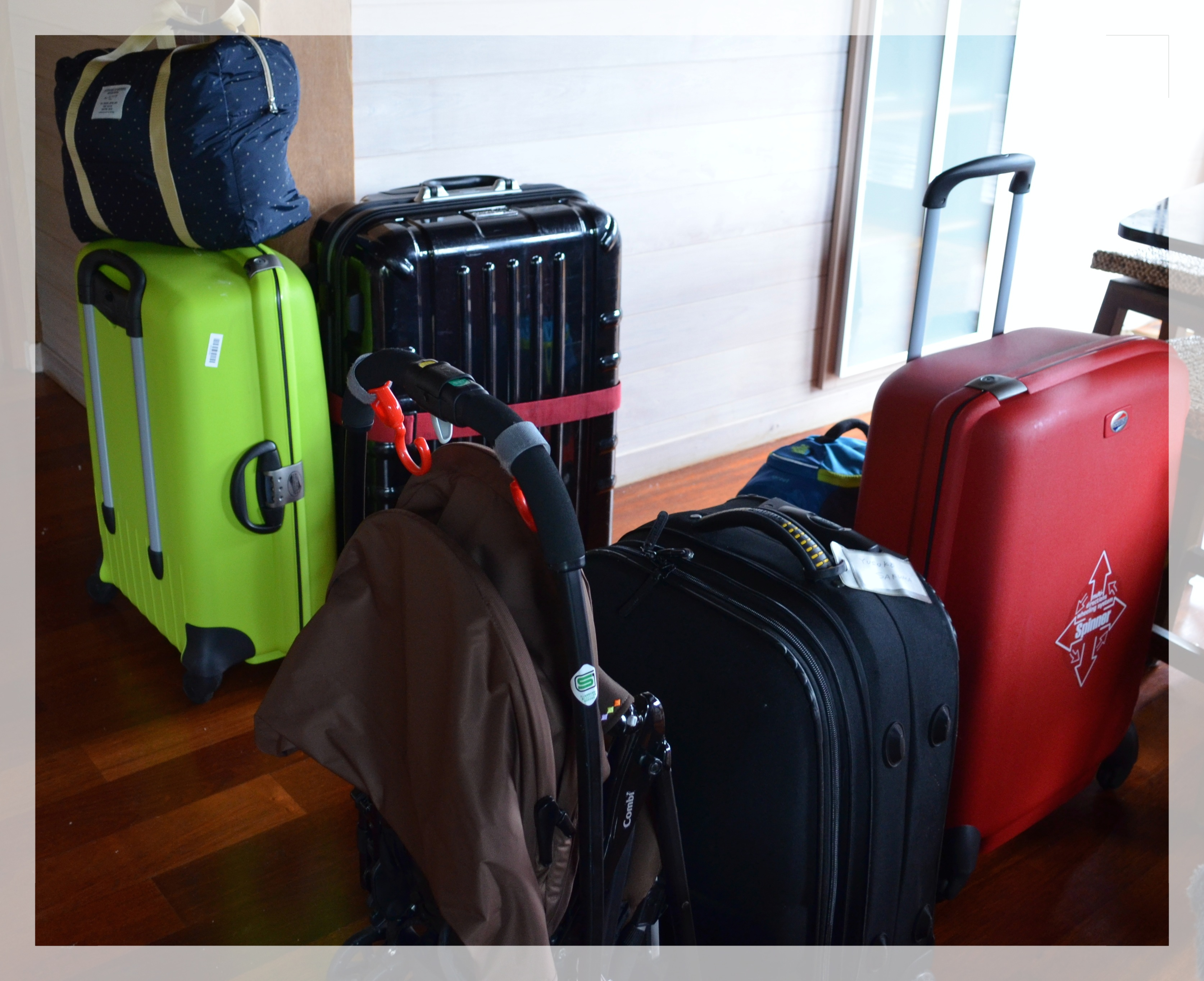 子連れタヒチ旅行記(2)出発からタヒチ到着まで